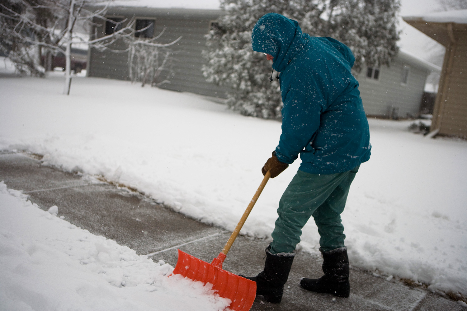 Avoid a Heart Attack When Shoveling Snow