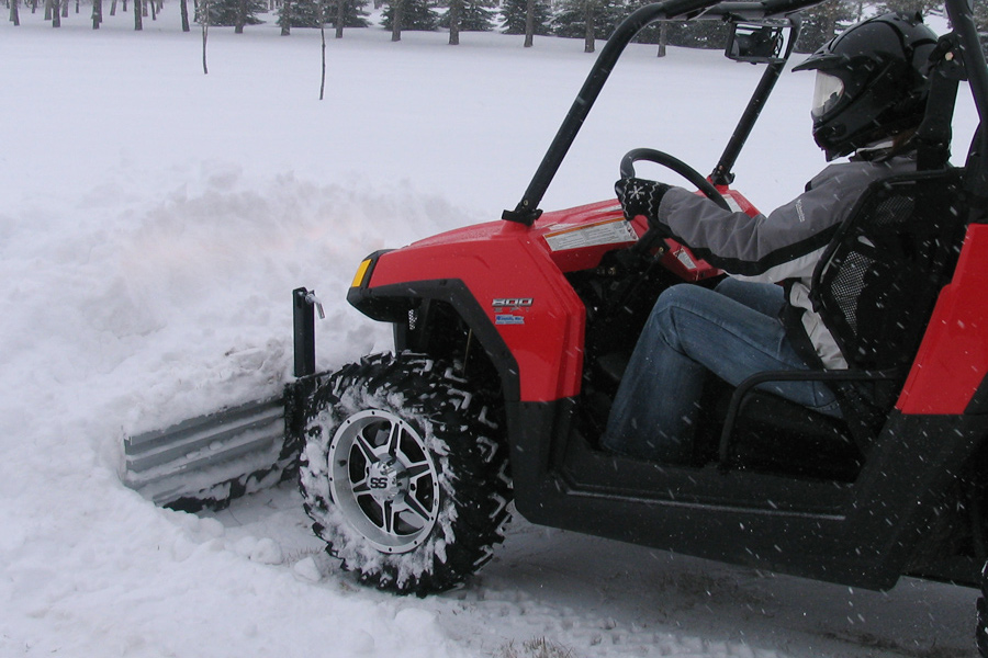 SnowSport ATV Snow Plow