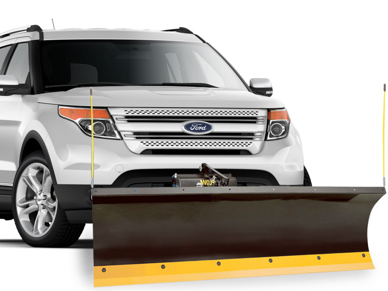 Ford Explorer Snow Plows - Snow Plows Direct