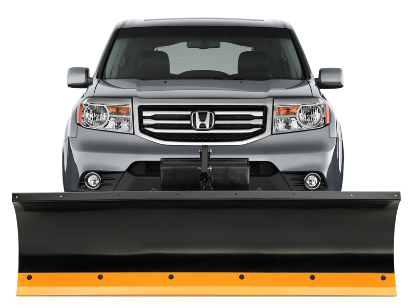 Honda Pilot Snow Plows - Snow Plows Direct